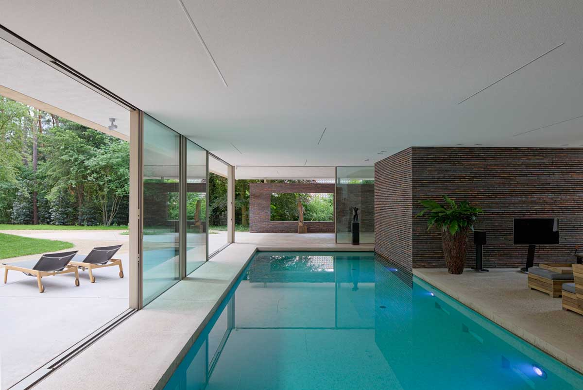 Private indoor pool  Inclusion of Beautiful Indoor Pool Designs At your Place | EiXei ...