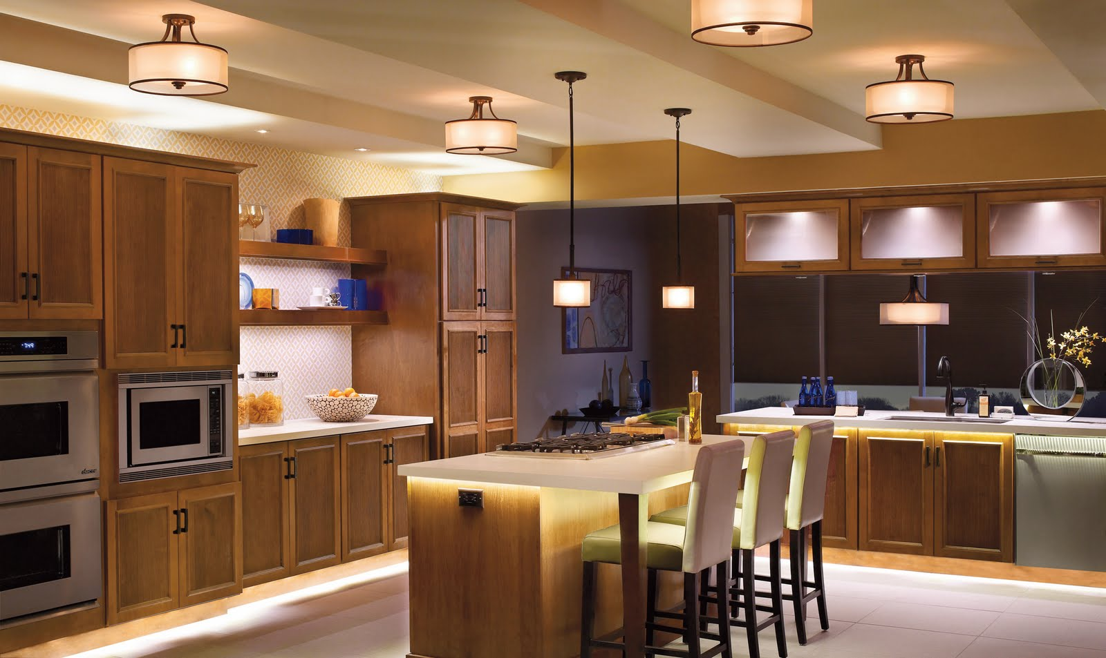 Ordinary Ideas For Kitchen Lighting Design Part - 2: Kitchen Lighting Design Tips | EiXei Home Improvement